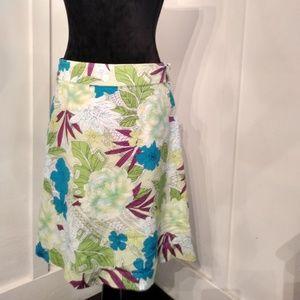 George Floral Skirt